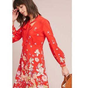 Anthropologie Moulinette Soeurs Lily Print Dress